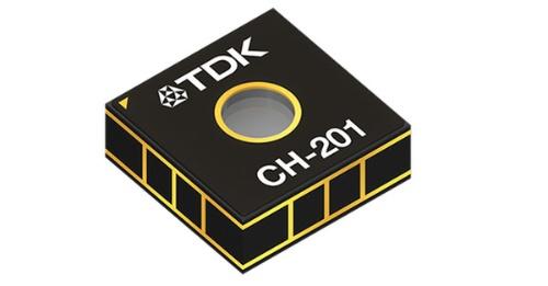 測定範囲を5mに広げたMEMS測距センサー。TDKの写真