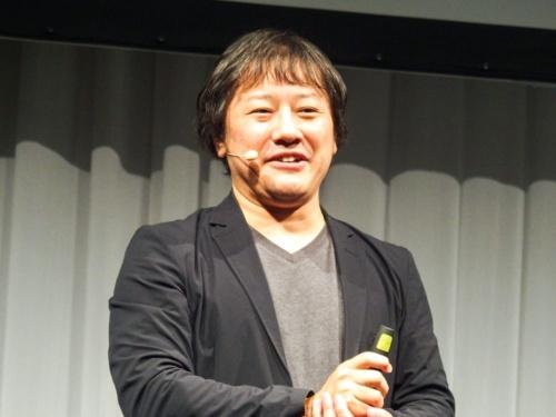 写真2●NECパーソナルコンピュータの森部浩至商品企画本部シニアエバンジェリスト