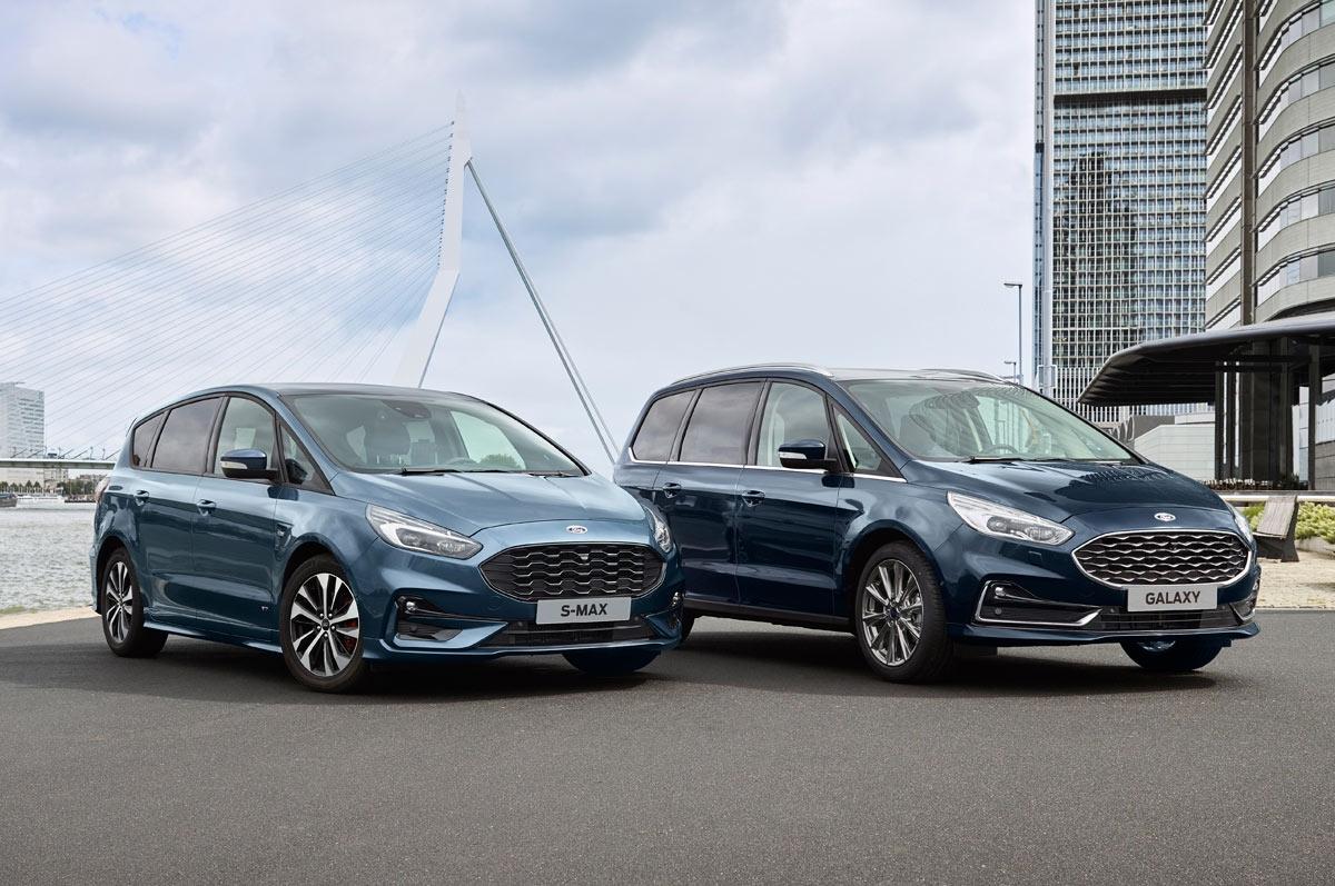 S-MAX Hybrid(左)とGalaxy Hybrid