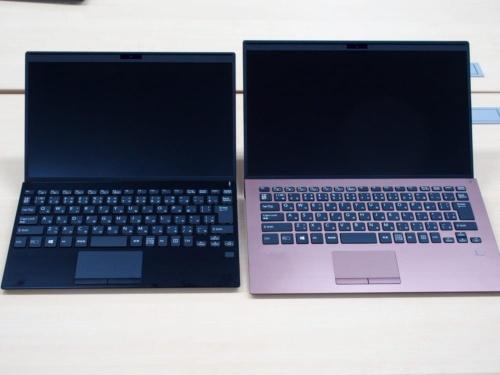 写真2●VAIO SX12(左)とVAIO SX14(右)
