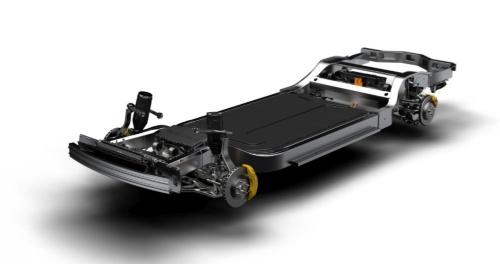 2018年のロサンゼルスモーターショーで発表されたRivianのEV用プラットフォーム