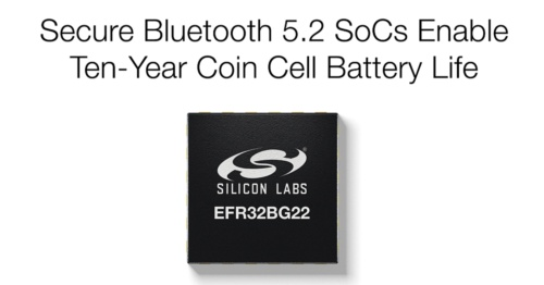 今回の新製品の「EFR32BG22(BG22)」