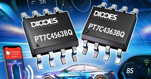 待機時消費電流が400nAと少ない車載機器向けリアルタイムクロックIC。Diodesのイメージ