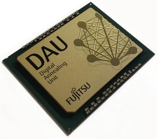 富士通の「デジタルアニーラ」専用プロセッサー
