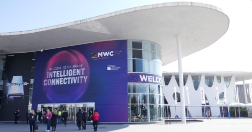 2019年2月に開かれたMWC19 Barcelonaの会場の模様