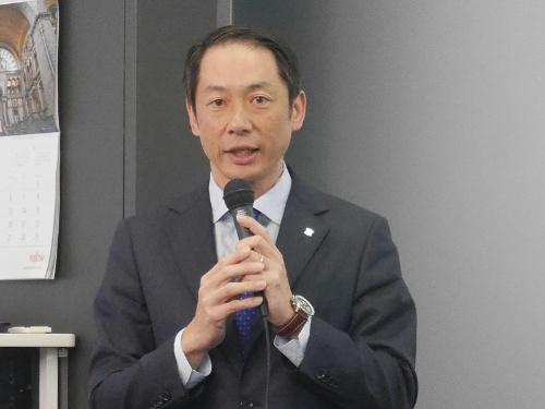 牧野国嗣理事執行役員オープン・イノベーションセンター長