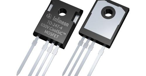 オン抵抗を削減した650V耐圧のSiCパワーMOSFET。Infineon Technologiesの写真