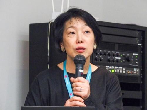 写真3●モトローラ・モビリティ・ジャパン プロダクトマネージャーの島田日登美氏