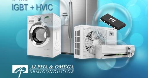 実装面積が18mm×7.5mmと小さいBLDCモーター駆動用インテリジェント・パワー・モジュール。Alpha and Omega Semiconductorのイメージ