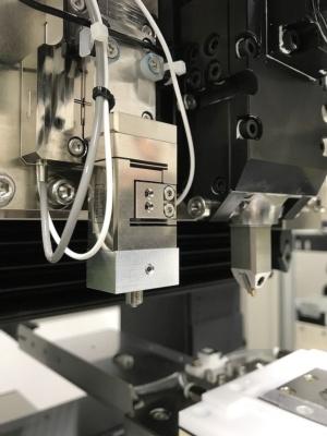 図2:新システムの微小硬さ計測部