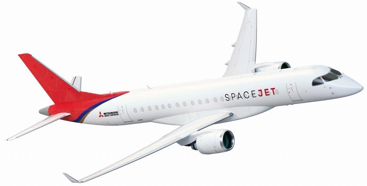 小型ジェット旅客機「三菱スペースジェット」  (写真:三菱航空機)