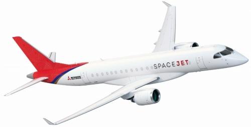 小型ジェット旅客機「三菱スペースジェット」