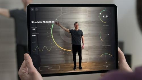 身体機能を評価するアプリの例
