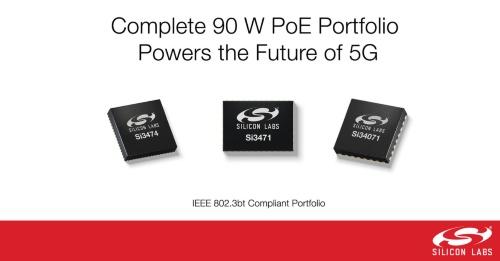 「IEEE 802.3bt」規格に準拠したPoE向け給電装置(PSE)/受電装置(PD)用IC