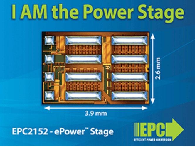 GaNトランジスタとゲートドライバーを集積したIC。 Efficient Power Conversionの写真
