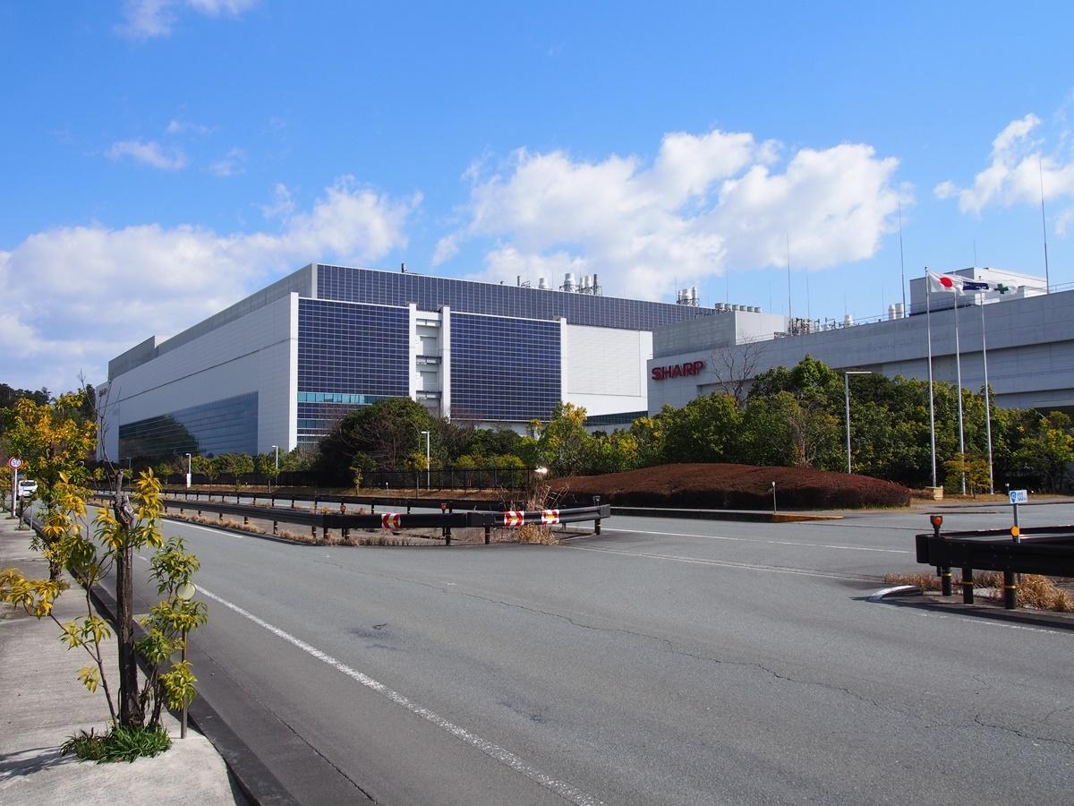 図2 シャープの三重工場 (出所:シャープ)