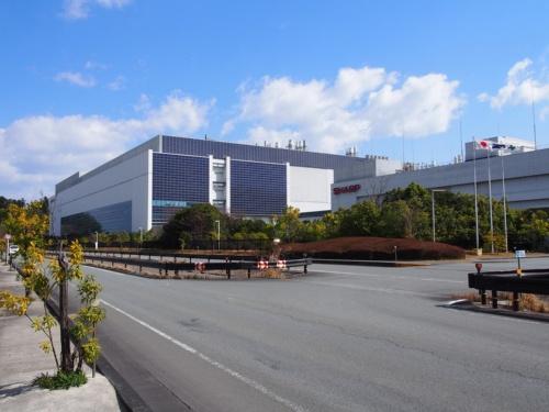 図2 シャープの三重工場
