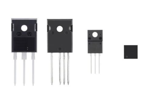 スイッチング電源の変換効率を約0.36%高められるスーパージャンクション構造パワーMOSFETのパッケージ。東芝デバイス&ストレージの写真