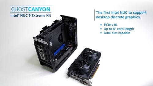 図3 シャシーにはPCI Express ×16スロットを備えており、GPUカードなどを挿せる