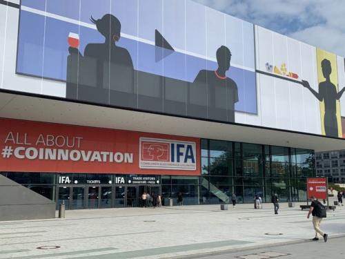 2019年9月に開催された「IFA 2019」の会場の様子(写真:日経クロステック)