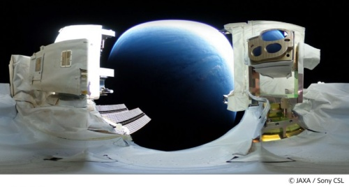 SOLISSから光通信で伝送されたHD画像