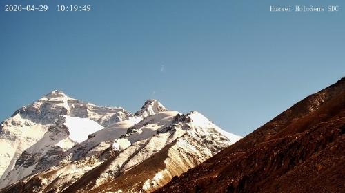 5Gカメラからライブ送信された動画のスクリーンショット