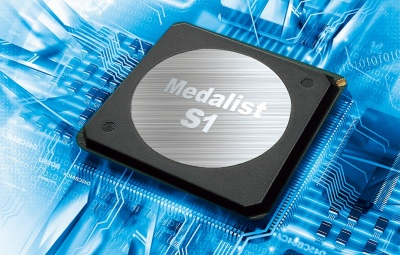 4K向けに新規開発した画像処理IC「Medalist S1」