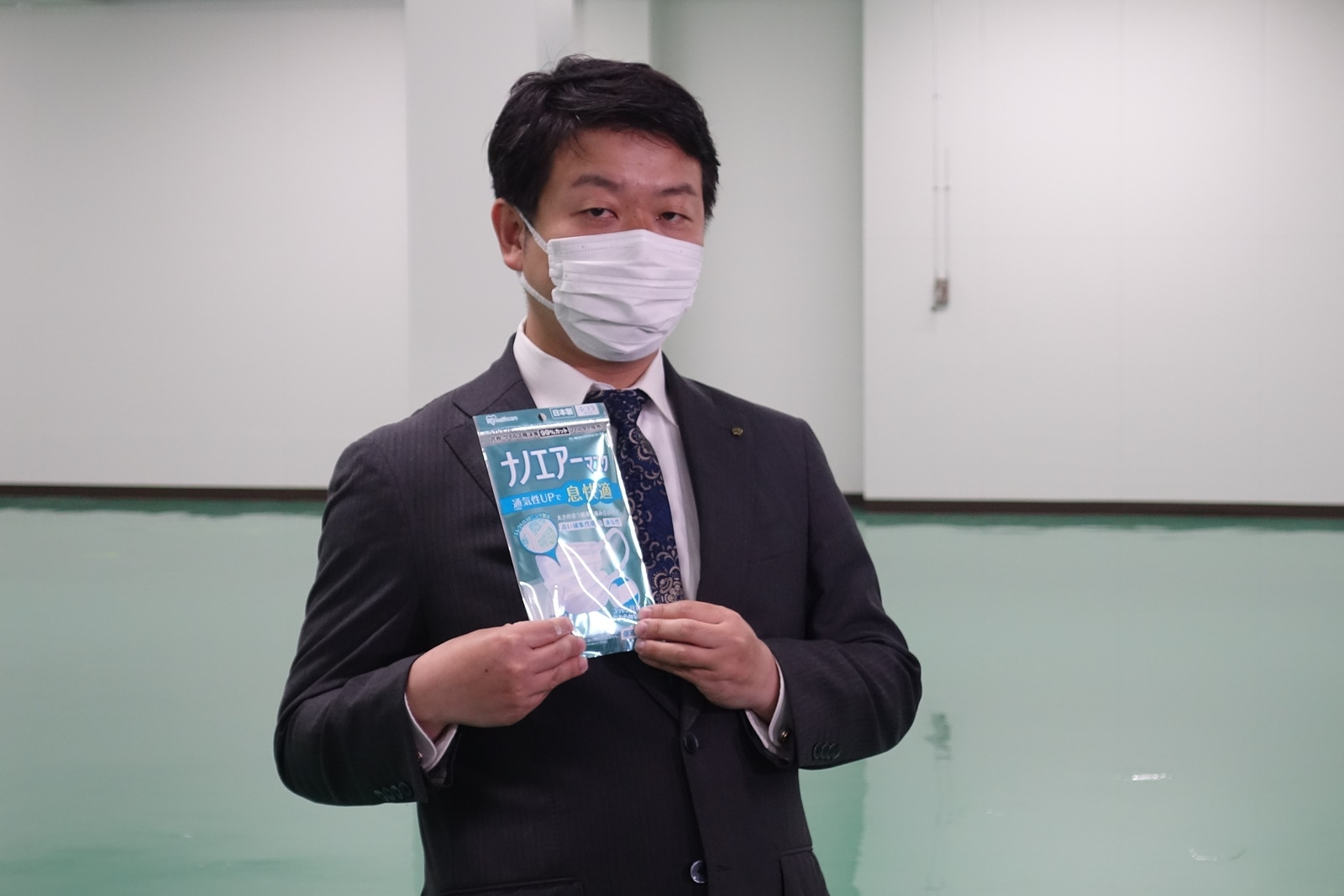 アイリスオーヤマ代表取締役社長の大山晃弘氏 (出所:日経クロステック)