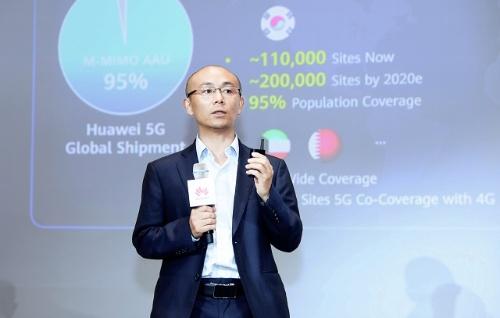 Huawei無線ネットワーク製造部門次長のGan Bin氏