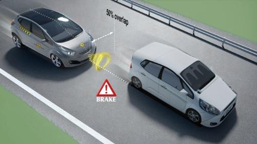 AEB Car-to-Carの評価試験