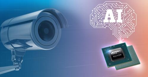 今回の新製品「RZ/V2M」と応用イメージ