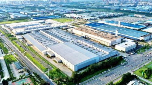 図1 ボルボの成都工場