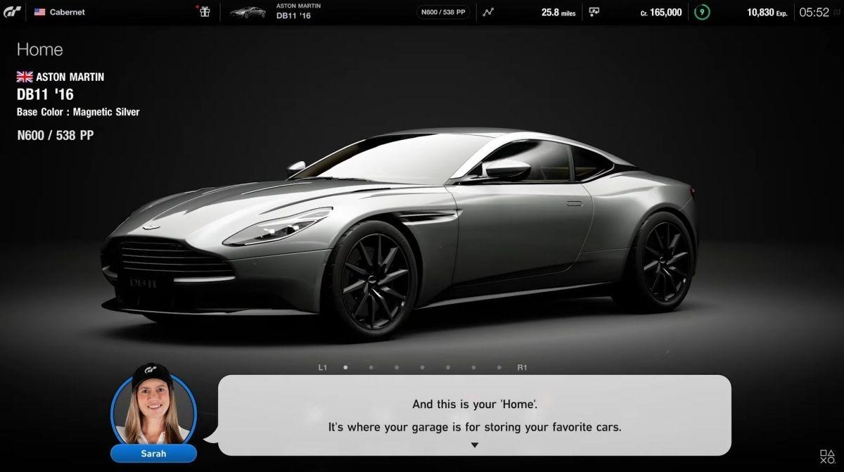 PS5対応の「グランツーリスモ7」の画面 (画像:SIEの公式動画をキャプチャーしたもの)