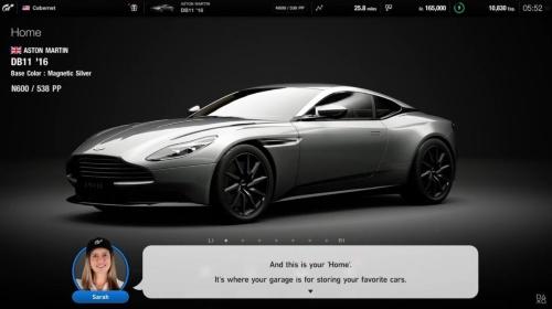 PS5対応の「グランツーリスモ7」の画面