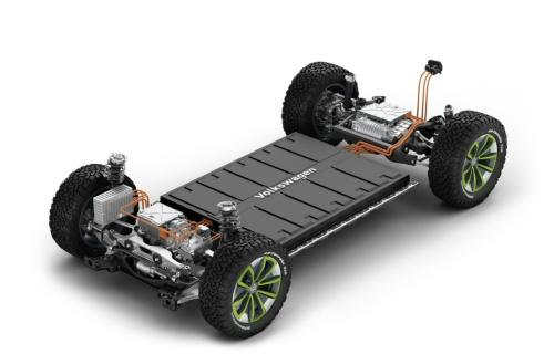 VWのEV専用プラットホーム「MBE」