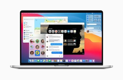 「Big Sur」を搭載したMacBook Pro
