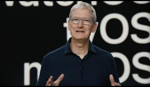 米Appleのティム・クックCEO