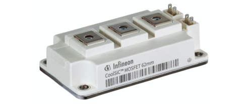 低オン抵抗の1200V耐圧SiCパワーMOSFETモジュール