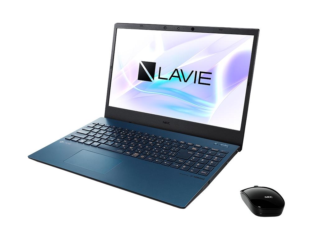 「LAVIE N15」(ネイビーブルー色) (出所:NECパーソナルコンピュータ、以下同じ)