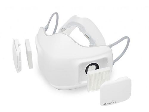 図1 LG電子が開発した小型ファン搭載マスクの外側