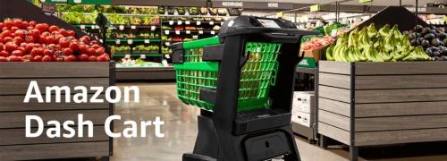 アマゾンのスマートカート「Amazon Dash Cart」