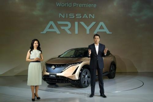 図 日産自動車の新型EV「アリア」