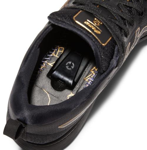 インソールを外し、靴底にあるくぼみに専用センサーを装着する
