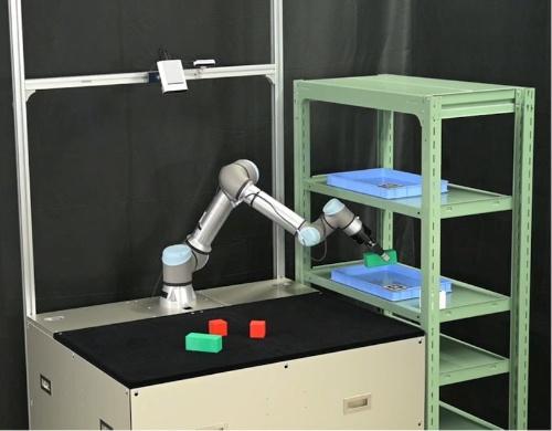 図2:「目標指向タスクプランニング」を適用したピック&プレース自動化ロボット