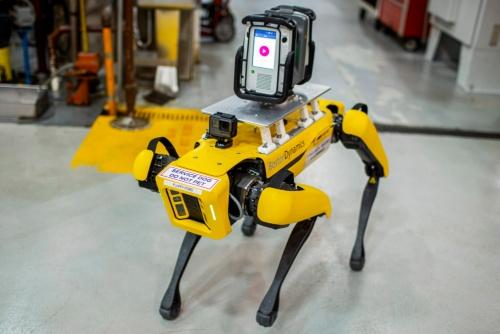 四足歩行ロボット「Spot」