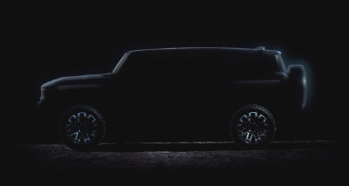 スーパートラック「Hummer EV」のティザー広告