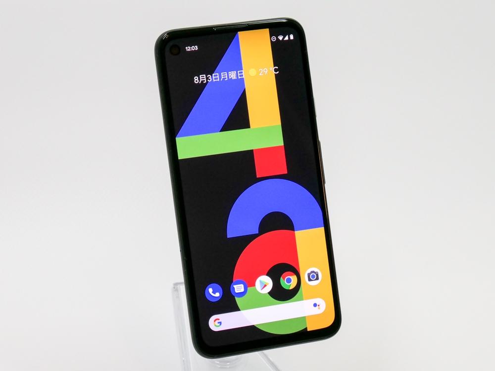 グーグル日本法人が「Pixel 4a」を発表 (撮影:山口 健太、以下同じ)