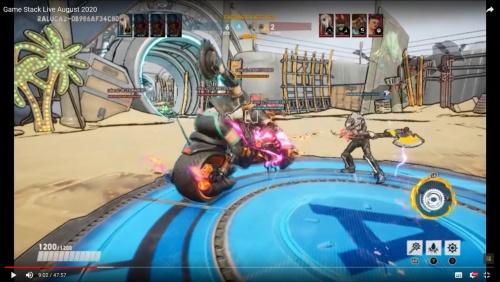 Ninja Theoryの対戦ゲーム「Bleeding Edge」の映像