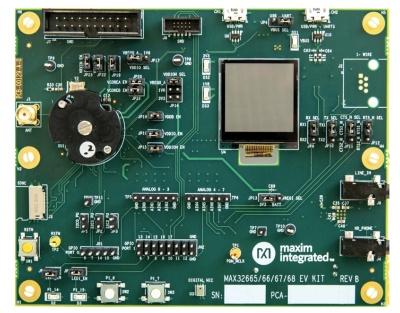 開発キットの「MAX32666EVKIT#」