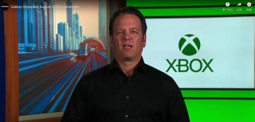 「Galaxy Note20」シリーズの発表動画には、Xbox事業を率いる、Microsoft Head of XboxのPhil Spencer氏が登場した